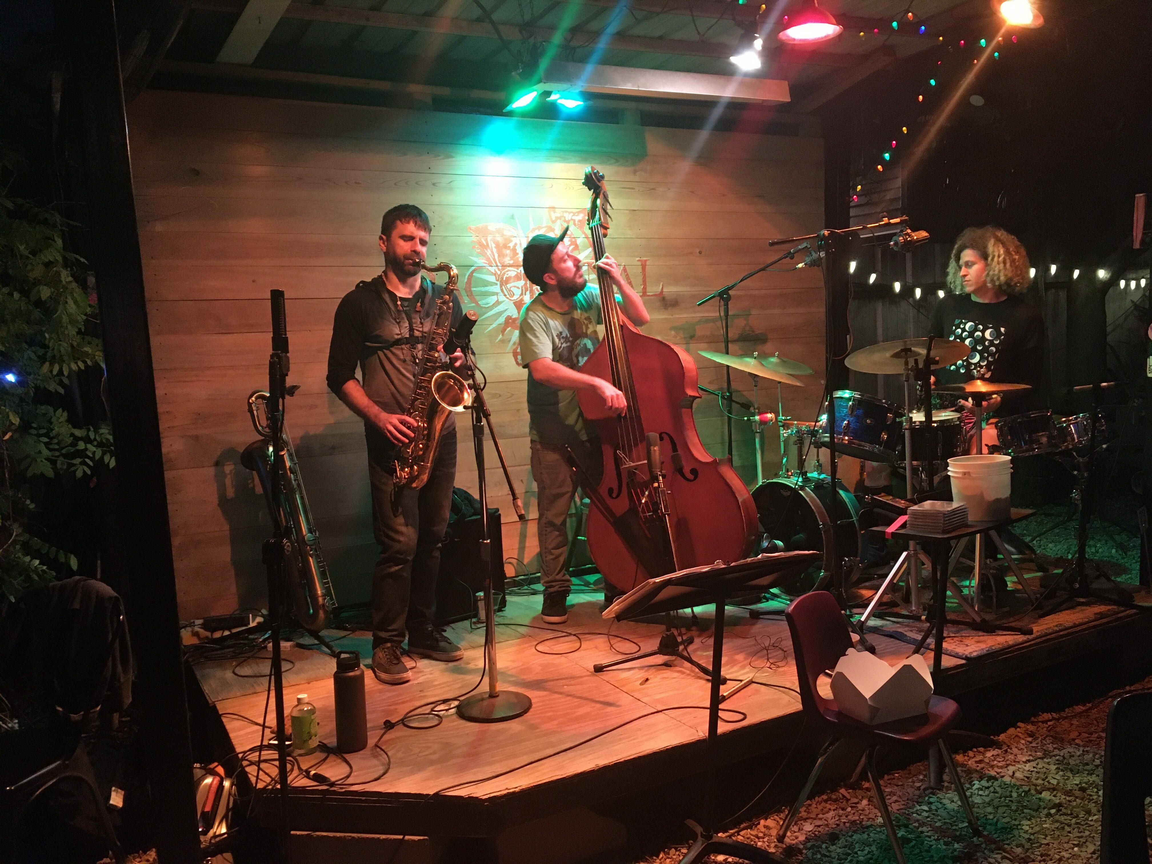 Jesse Morrow Trio Bacchanal recording