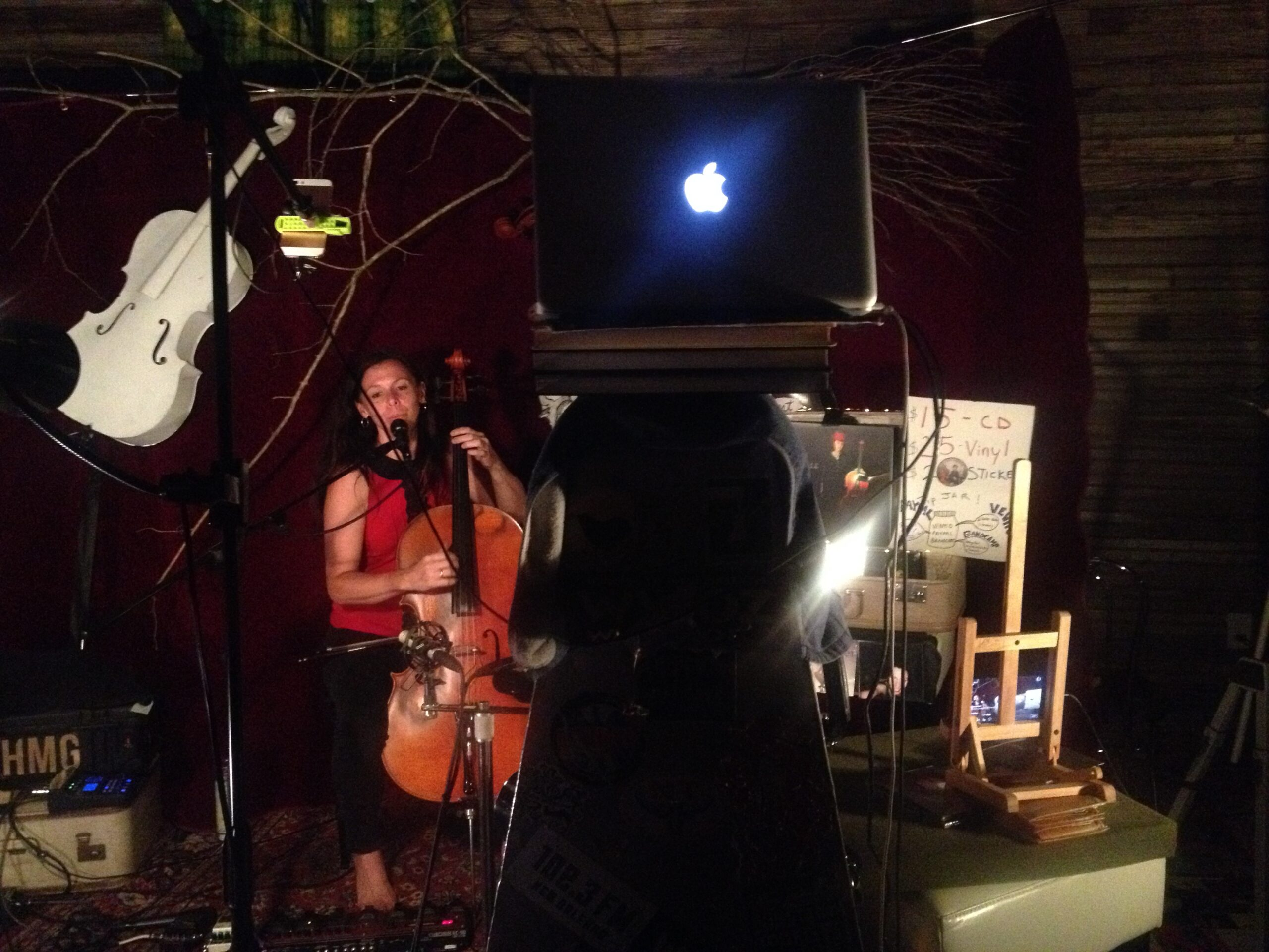 Livestream concert with Helen Gillet