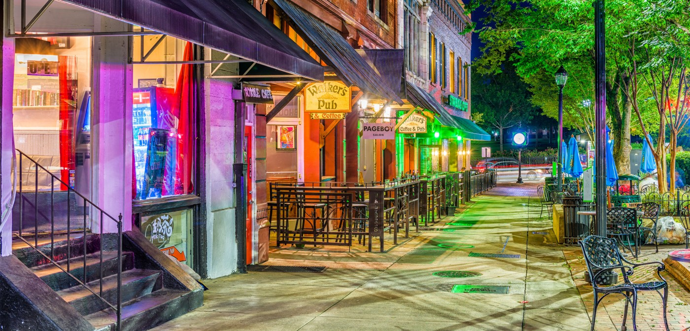 Downtown Athens GA