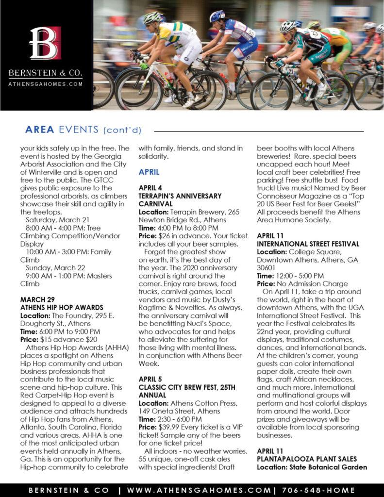 Athens Ga Event Calendar