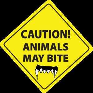 Animals May Bite (English)