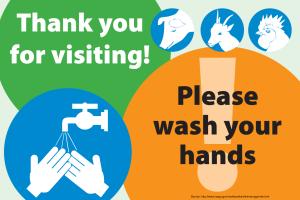 Thank You Wash Hands (English)
