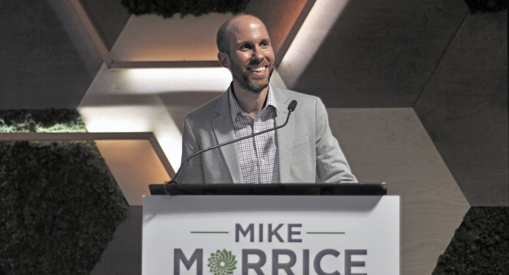Green Party Candidate Mike Morrice