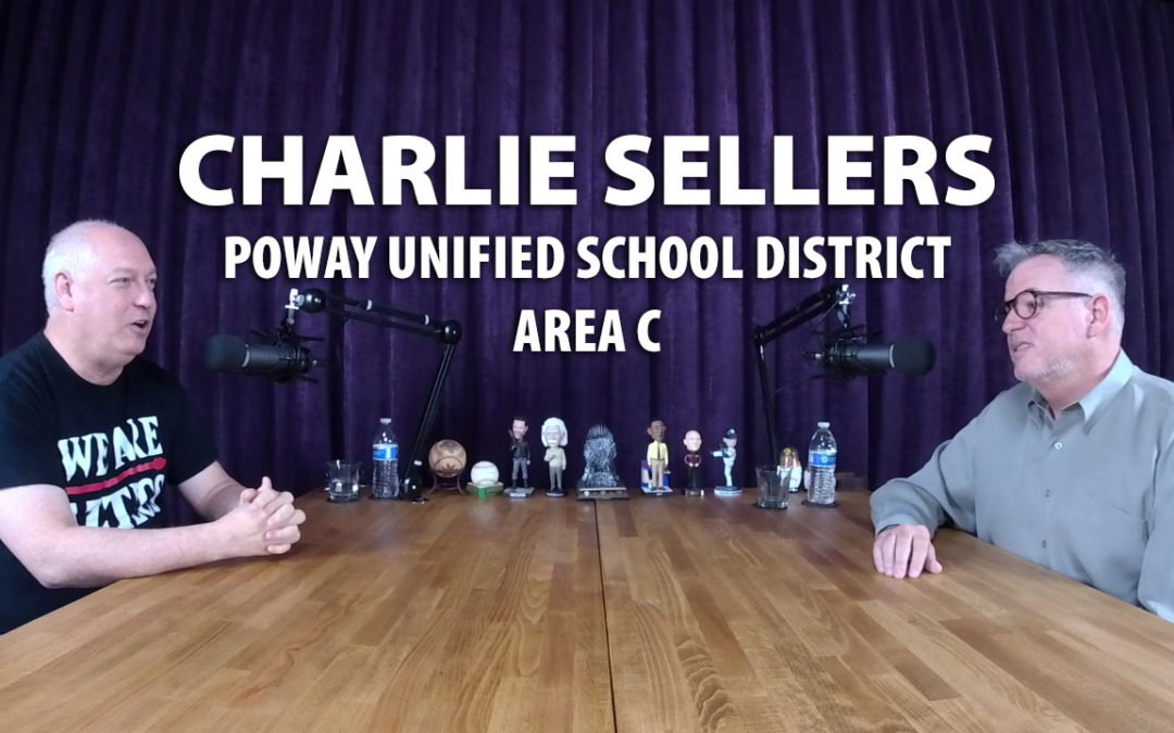 Charlie Sellers ran unsuccessfully for re-election for Poway School Board in 2018.