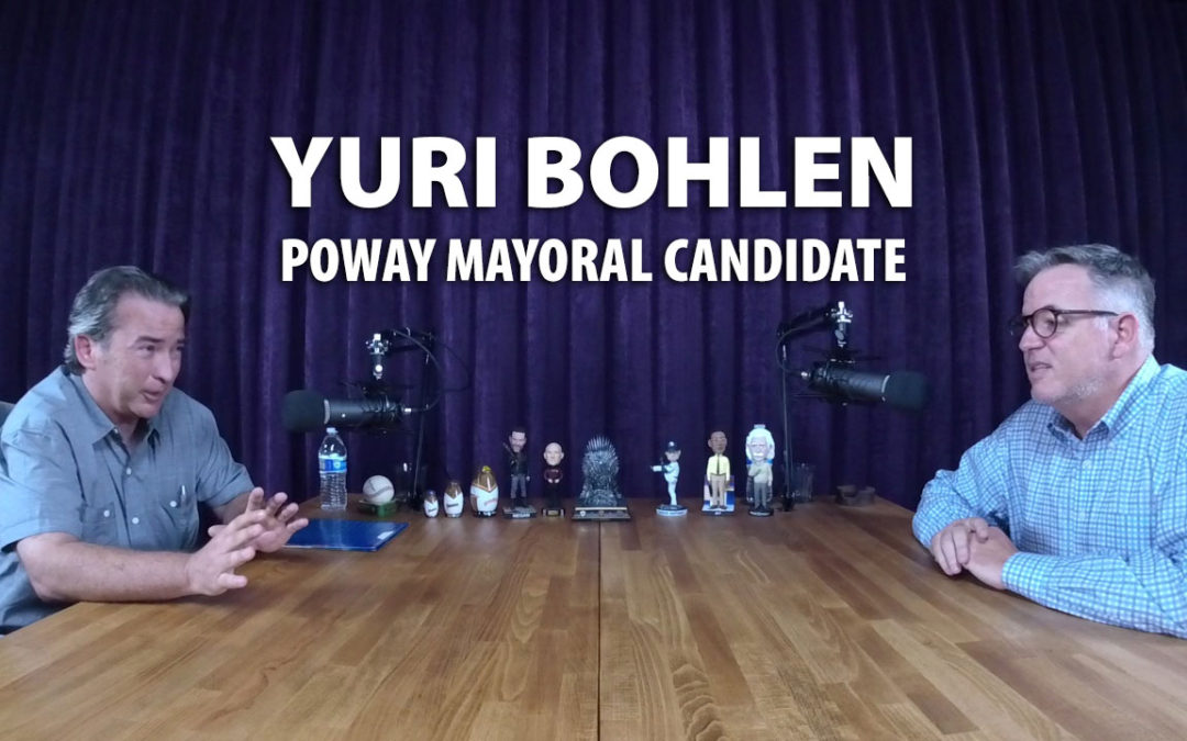 Yuri Bohlen was a candidate for Poway Mayor in 2018.