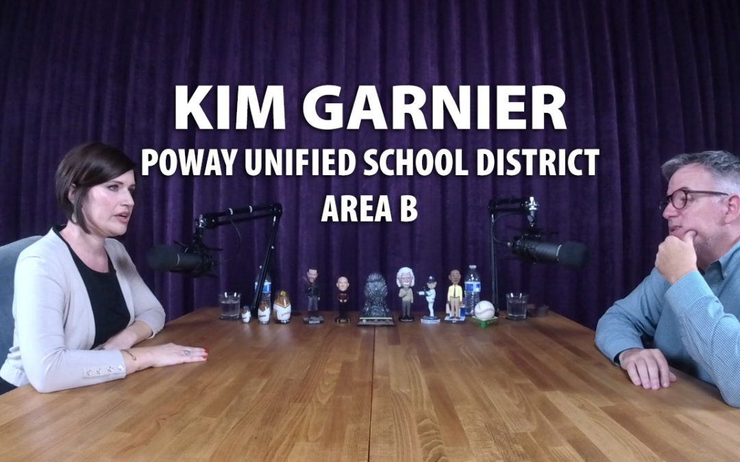 Kim Garnier was a candidate for Poway Unified School District Area B in 2018.
