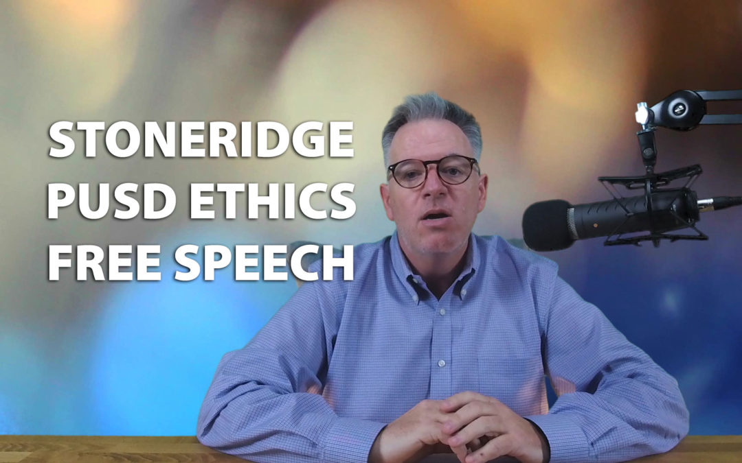 Stoneridge Country Club, Kevin McNamara, Poway Unified School District Ethics, Free Speech.
