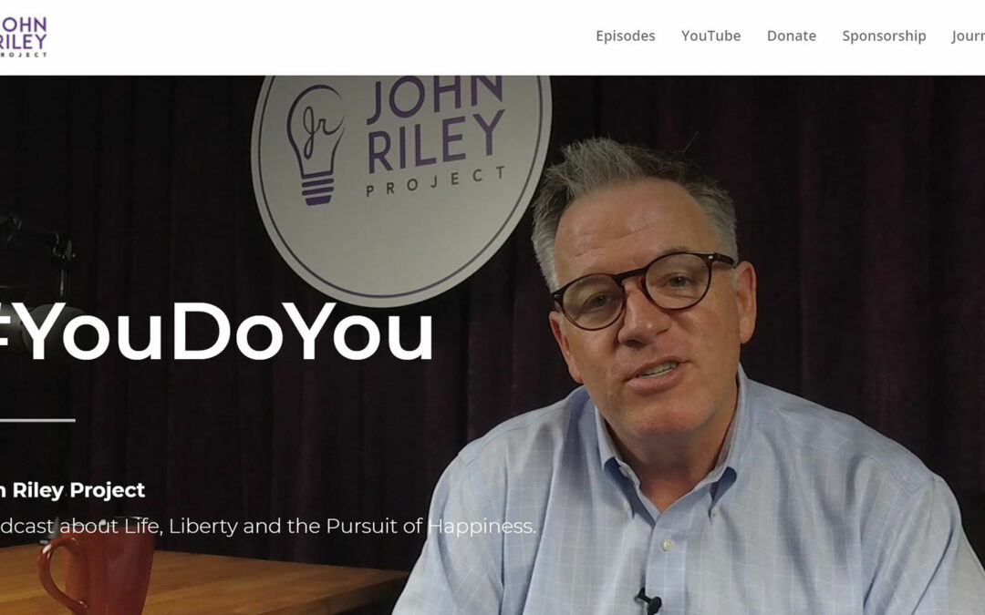 John Riley Project website front page