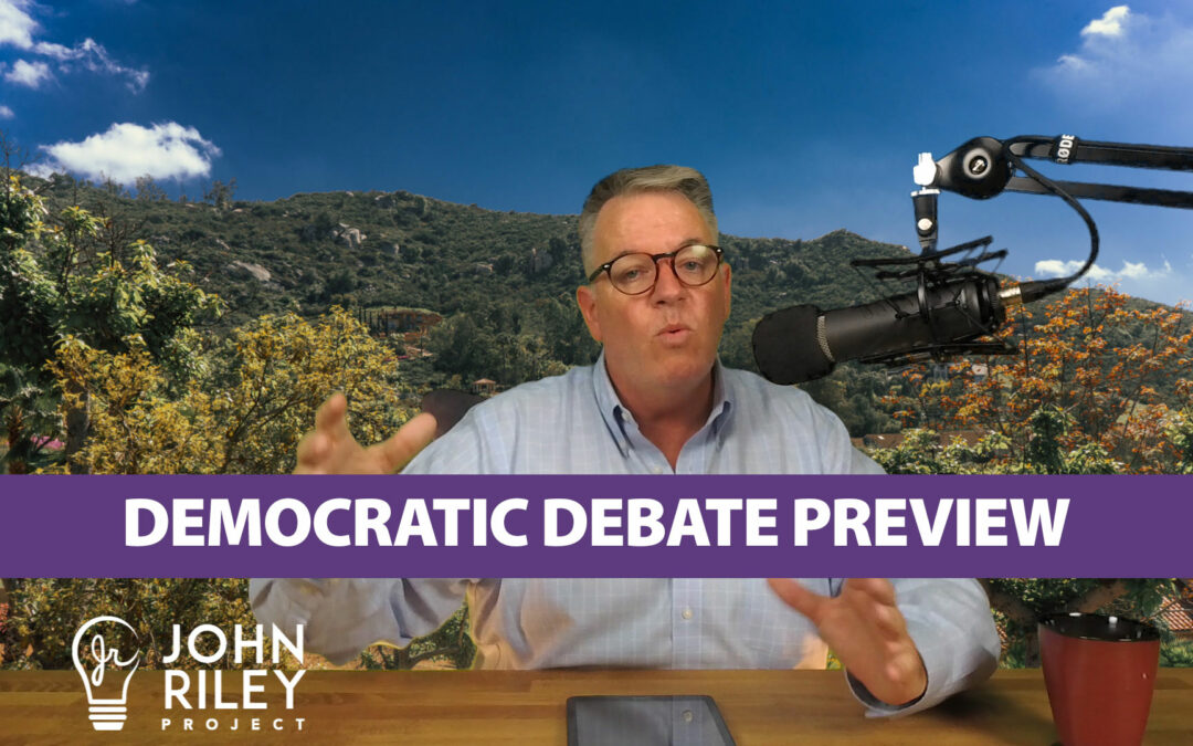 Democratic Debates, preview, POTUS, John Riley Project, JRP0059