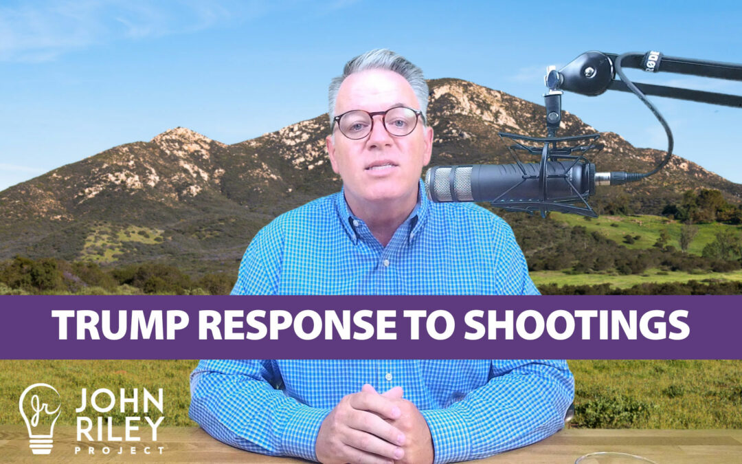Trump response to shooting, padres, poway, steve vaus, john riley project, jrp0066