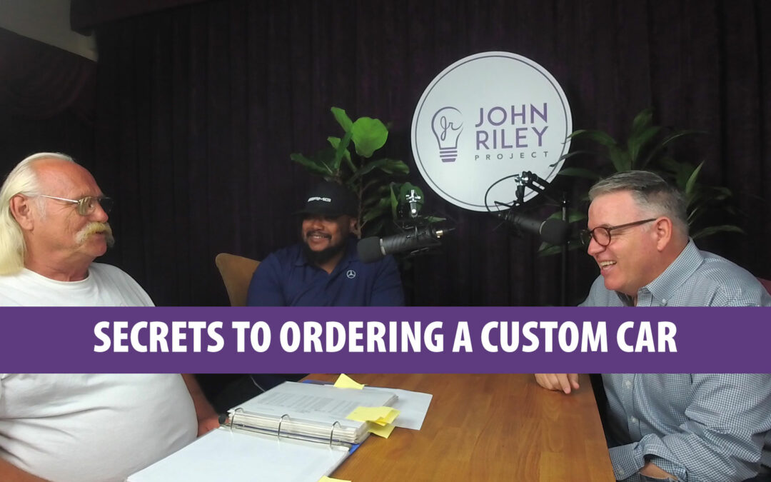 Secrets to ordering a custom car, Pete Neild, Mike Polite, Corvette, Mercedes Benz, John Riley Project, JRp0073