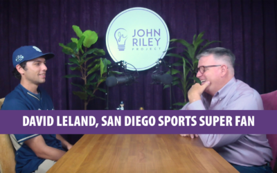 San Diego Sports Super Fan, David Leland, JRP0069