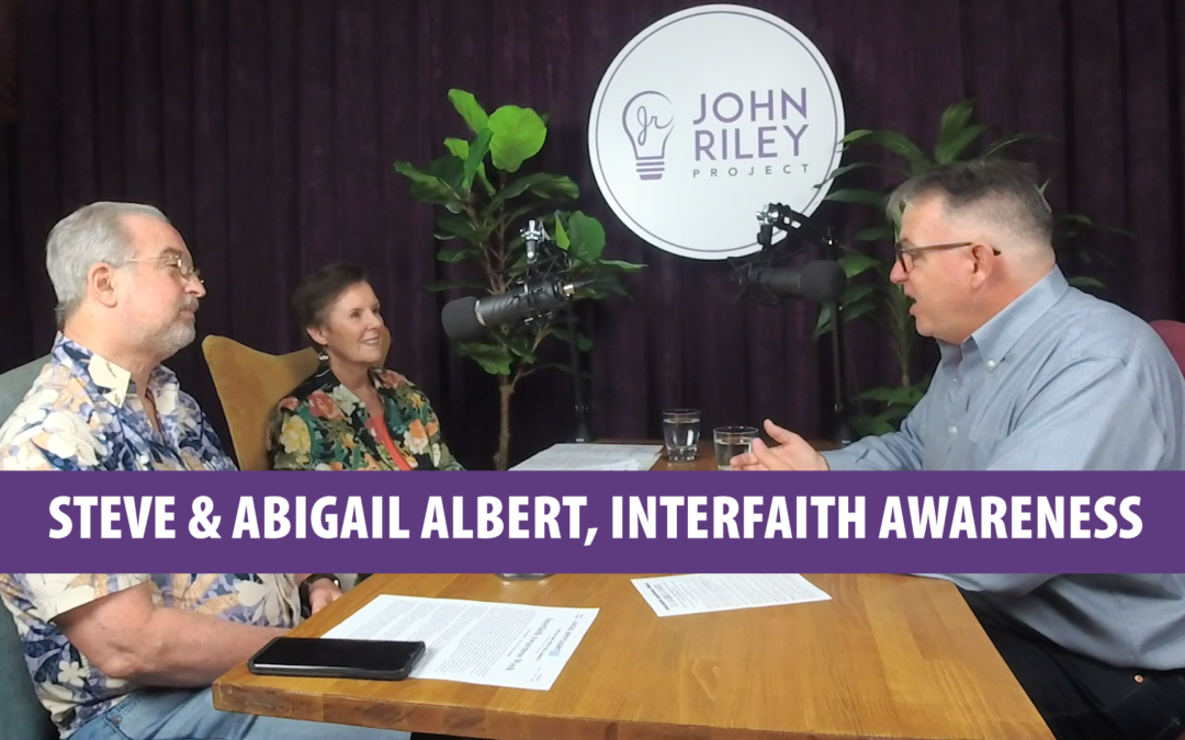 Interfaith Awareness Week in San Diego, Reverend Drs. Stephen and Abigail Albert, JRP0067