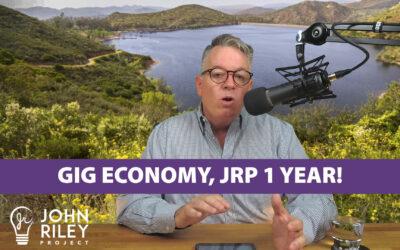 Gig Economy, 1 Year Anniversary, JRP0076