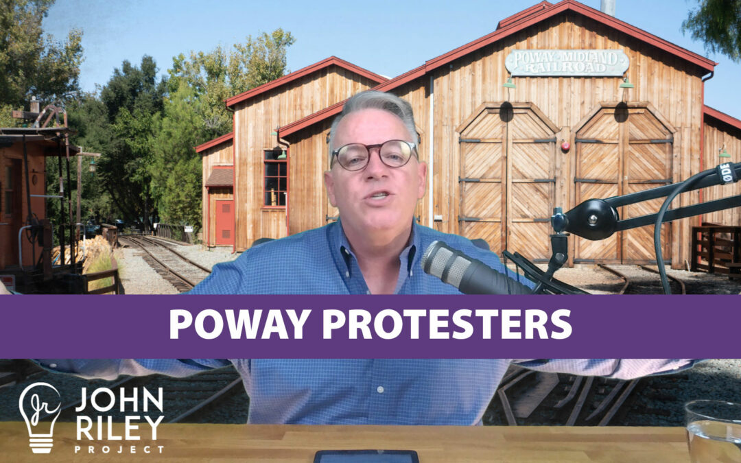 Poway Protesters, Trump vs Anti-Trump, JRP0081