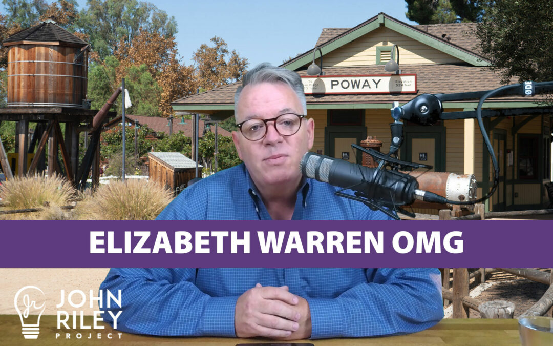 Elizabeth Warren OMG, Dem Debates, JRP0082