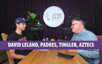 David Leland, Padres, Tingler, Aztecs, JRP0086