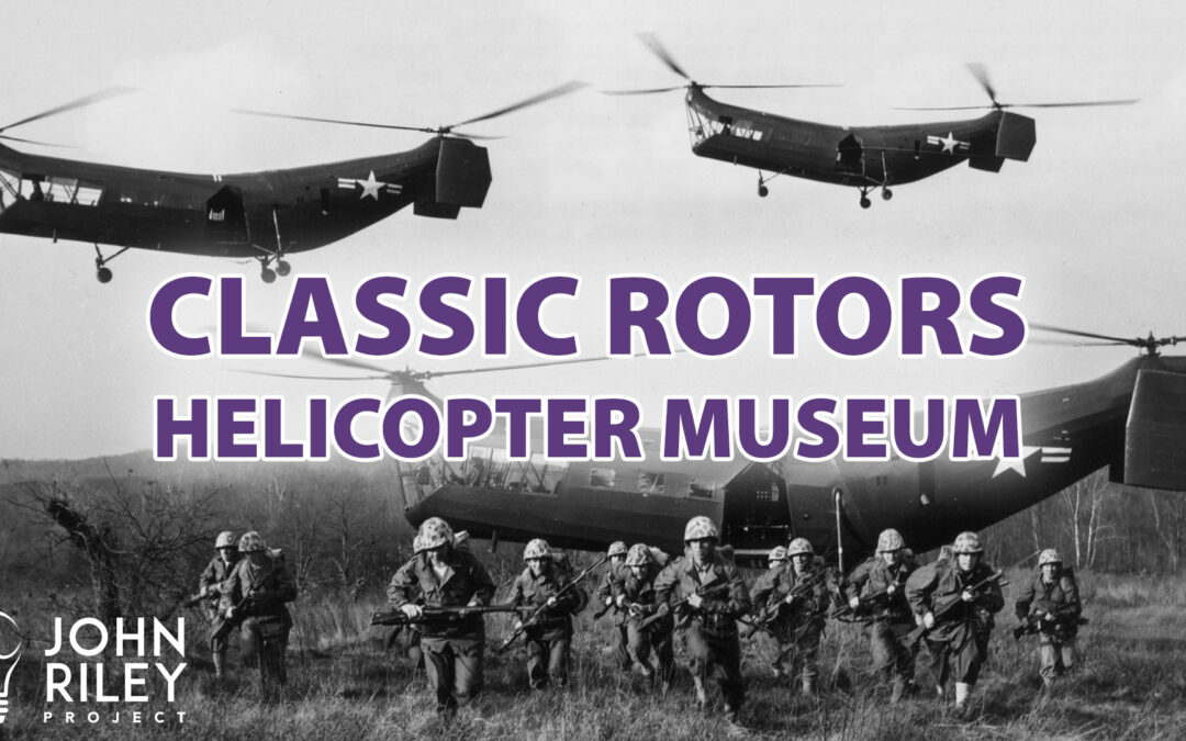 Mark DiCiero, Classic Rotors, Helicopter Museum, JRP0022
