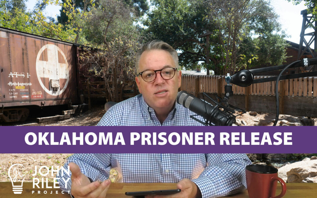Oklahoma Prisoner Release, War on Drugs, Ranked Choice Voting, Kentucky Governor, JRP0090