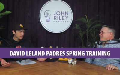 David Leland Padres Spring Training Aztec Hoops JRP0111