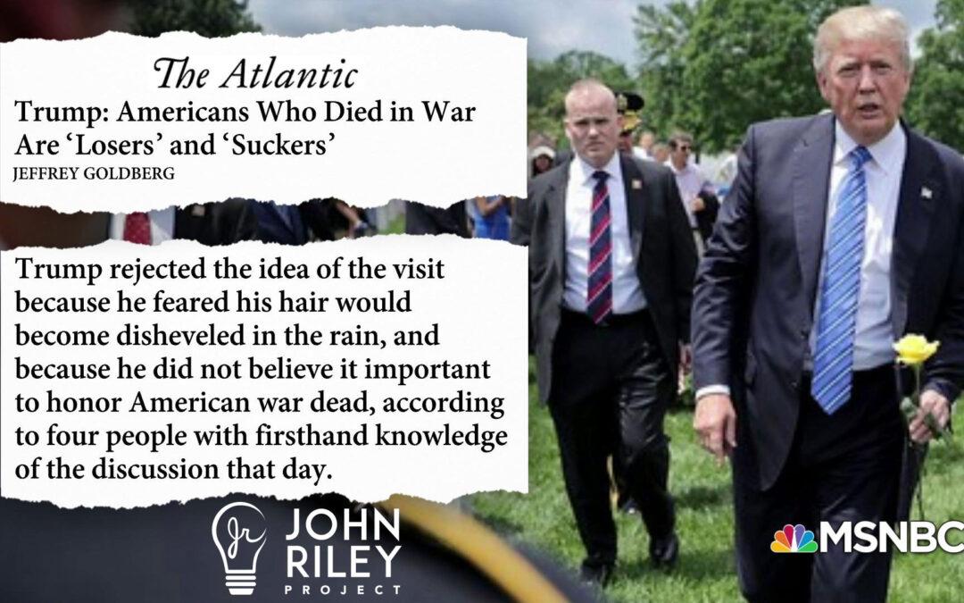 Trump, Losers, Win-Lose, John Riley Project, JRP0157