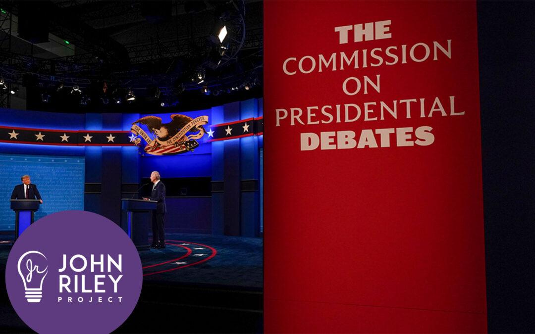 Demented Debate Debacle, Presidential Debate, Commission on Presidential Debates, Joe Biden, Donald Trump, John Riley Project, JRP0170