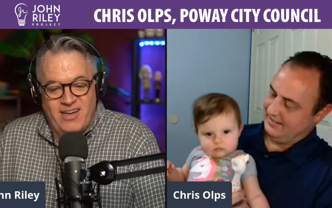 Chris Olps, Poway City Council Candidate, John Riley Project, JRP0175