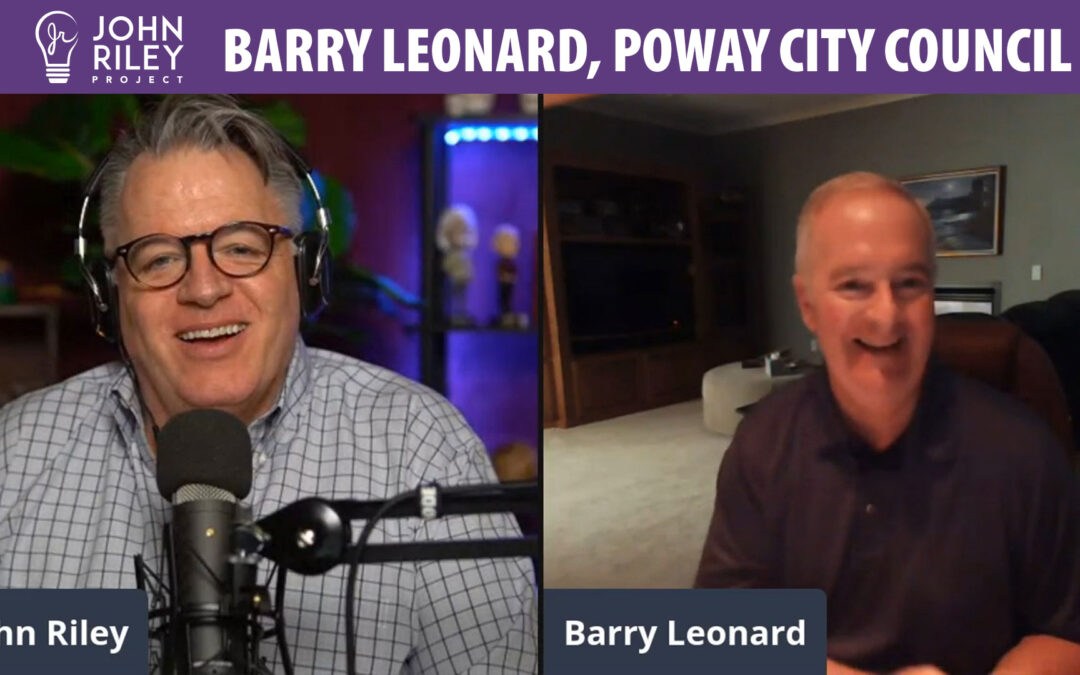Barry Leonard, Poway City Council, John Riley Project, JRP0178