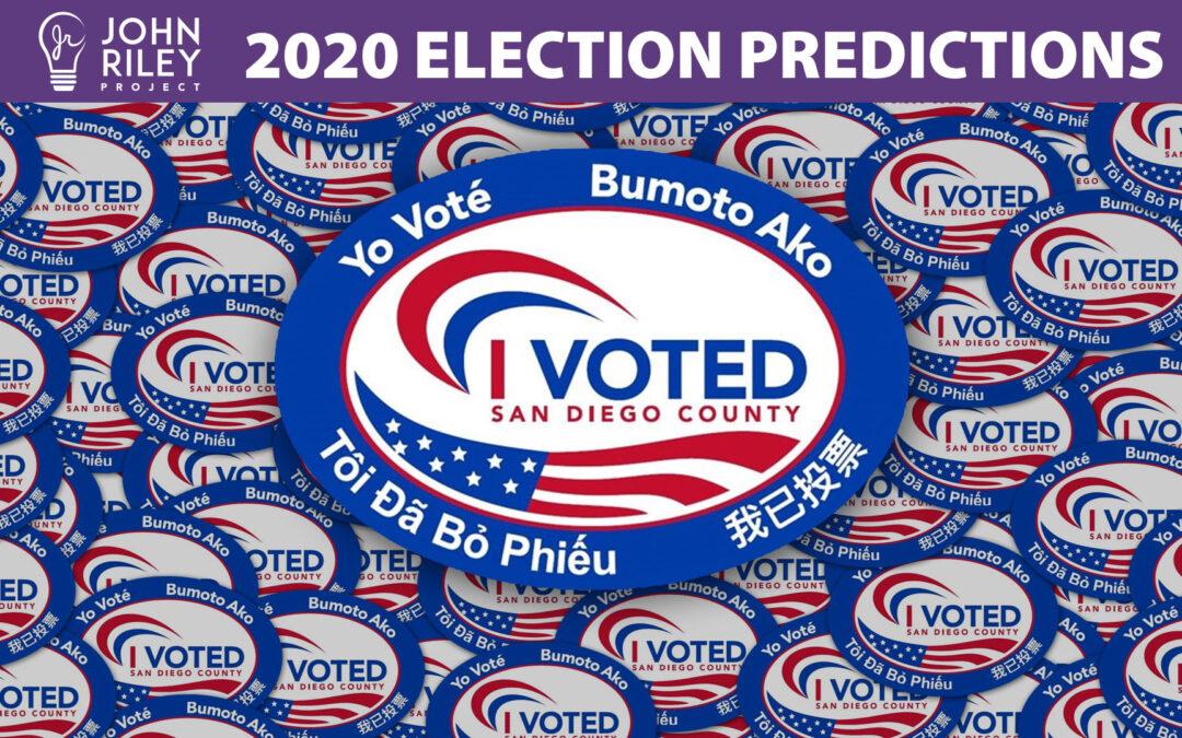 2020 Election Predictions, JRP0183