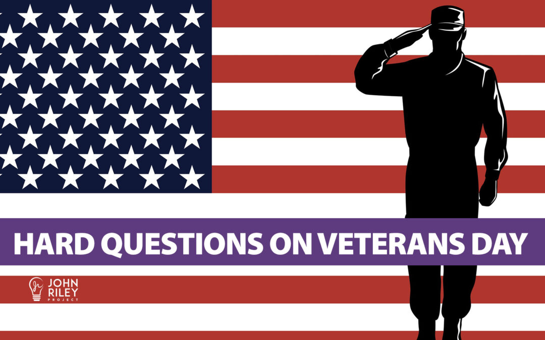 Hard Questions on Veterans Day, JRP0189