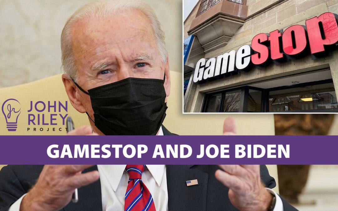 GameStop and Joe Biden, JRP0196