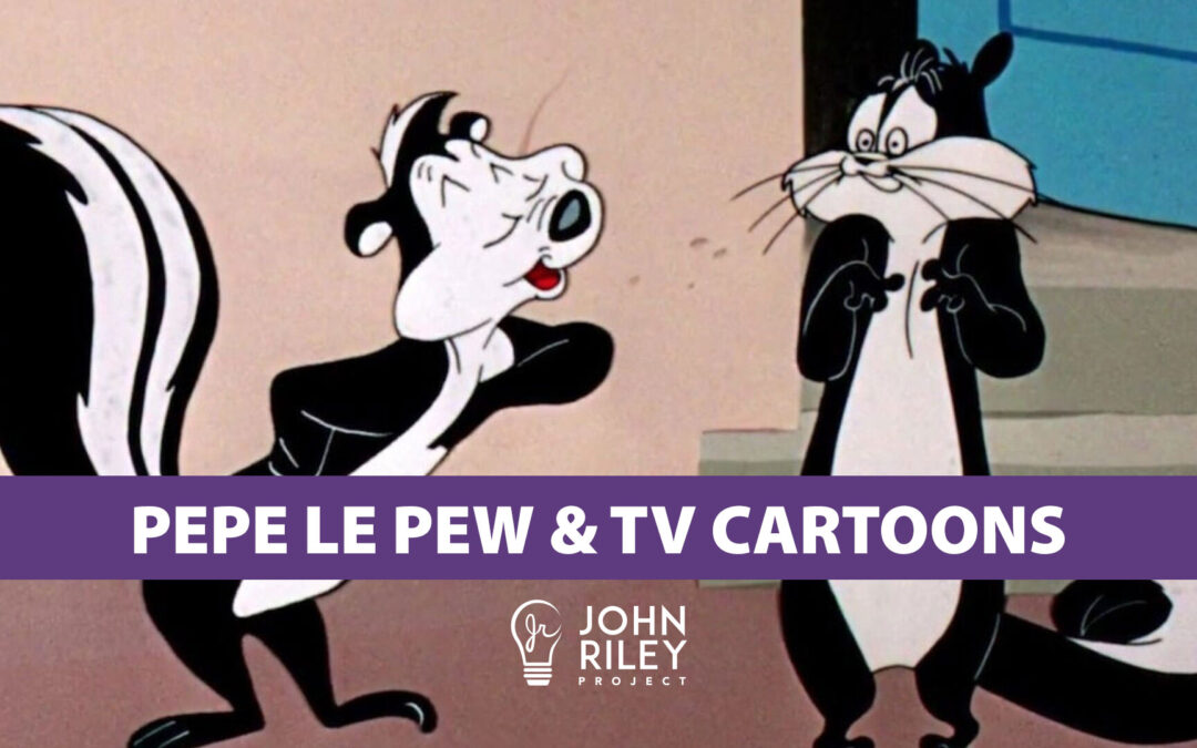 pepe le pew, saturday morning tv cartoons, john riley project, jrp0212