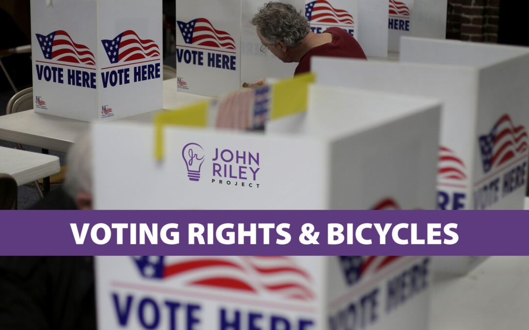 voting rights, stop the steal, bicycle commuting, bmx, amit asaravala, poway, JRP0216