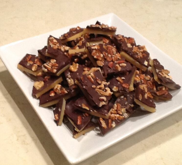 Sweet and Easy Toffee