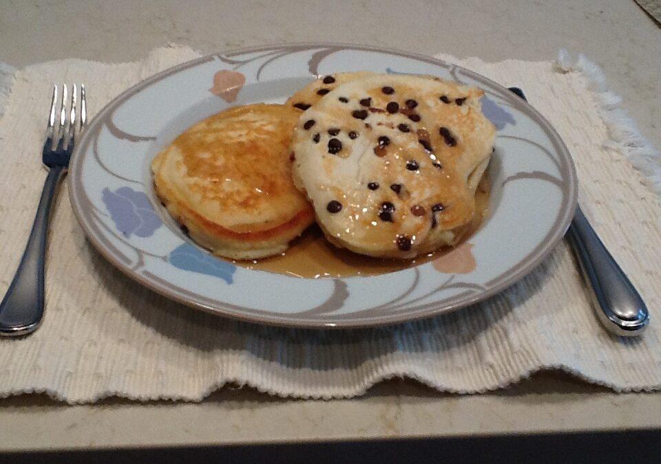 En Jamima, Anyone?  Sunday Morning Pancakes
