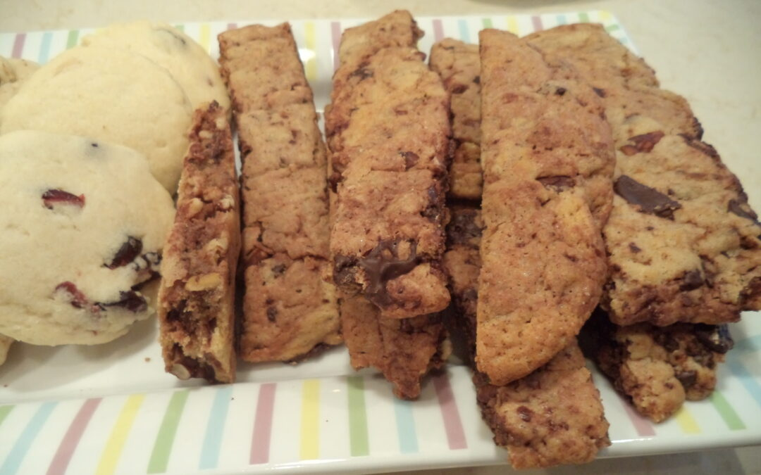 Chocolate-Pecan Biscotti and Refrain