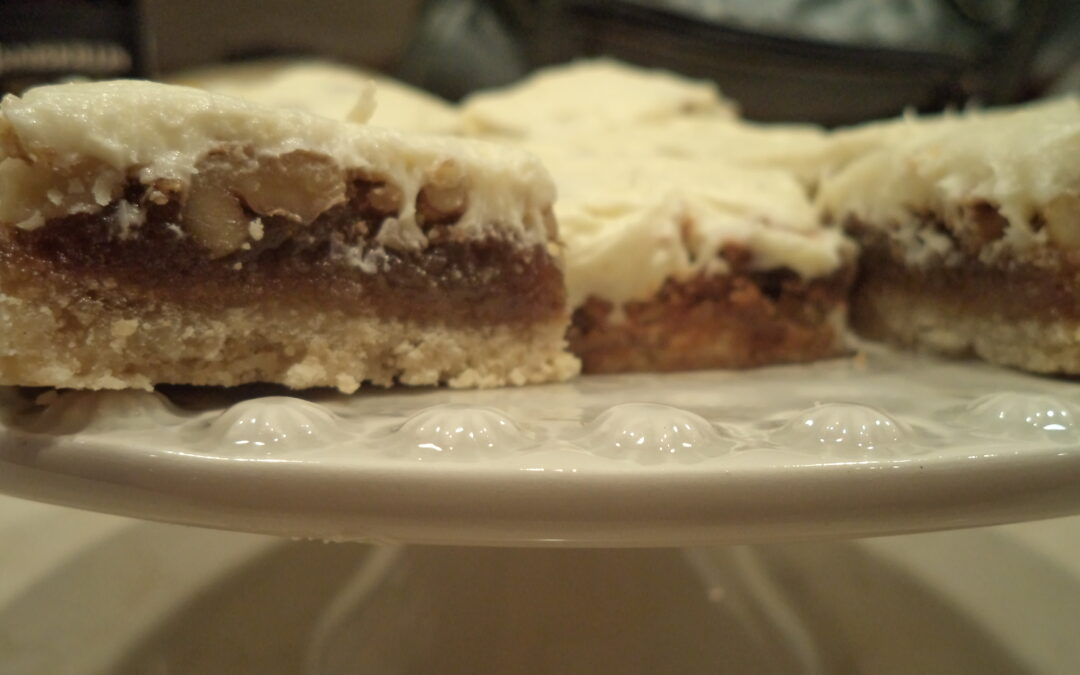 Walnut Bars and What Happened to Courtesy?