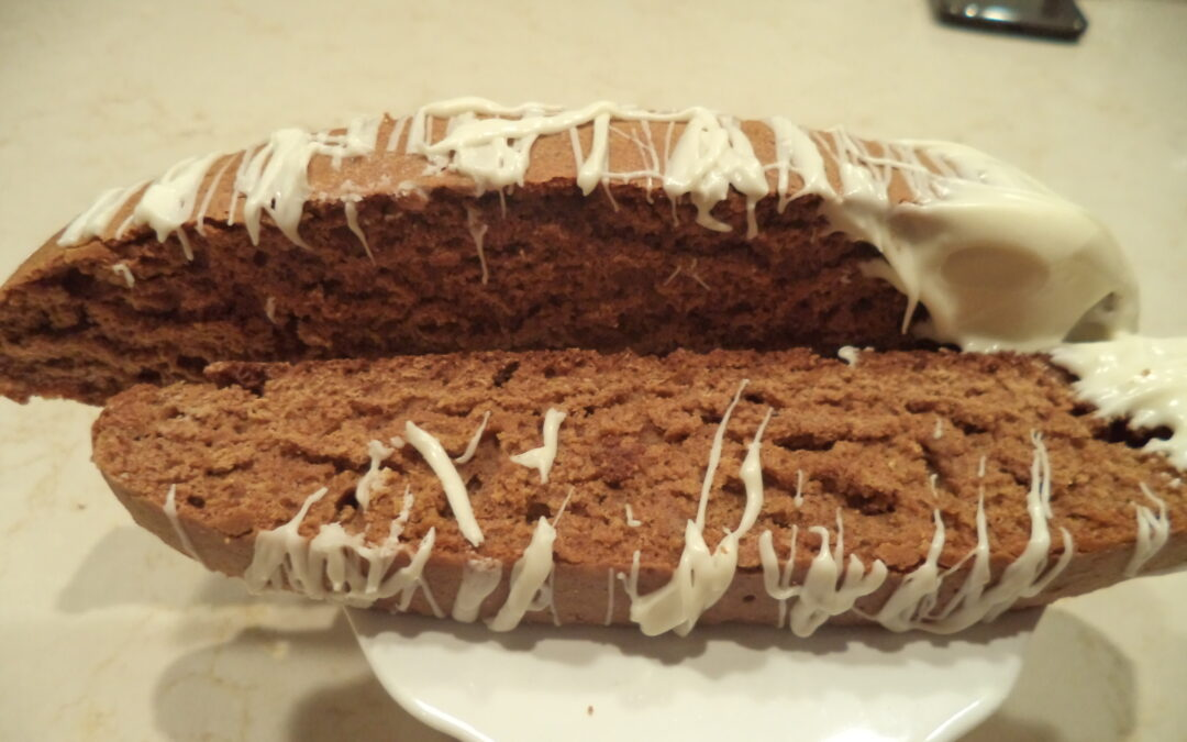 Gingerbread Biscotti-The Choice is Yours Option #2