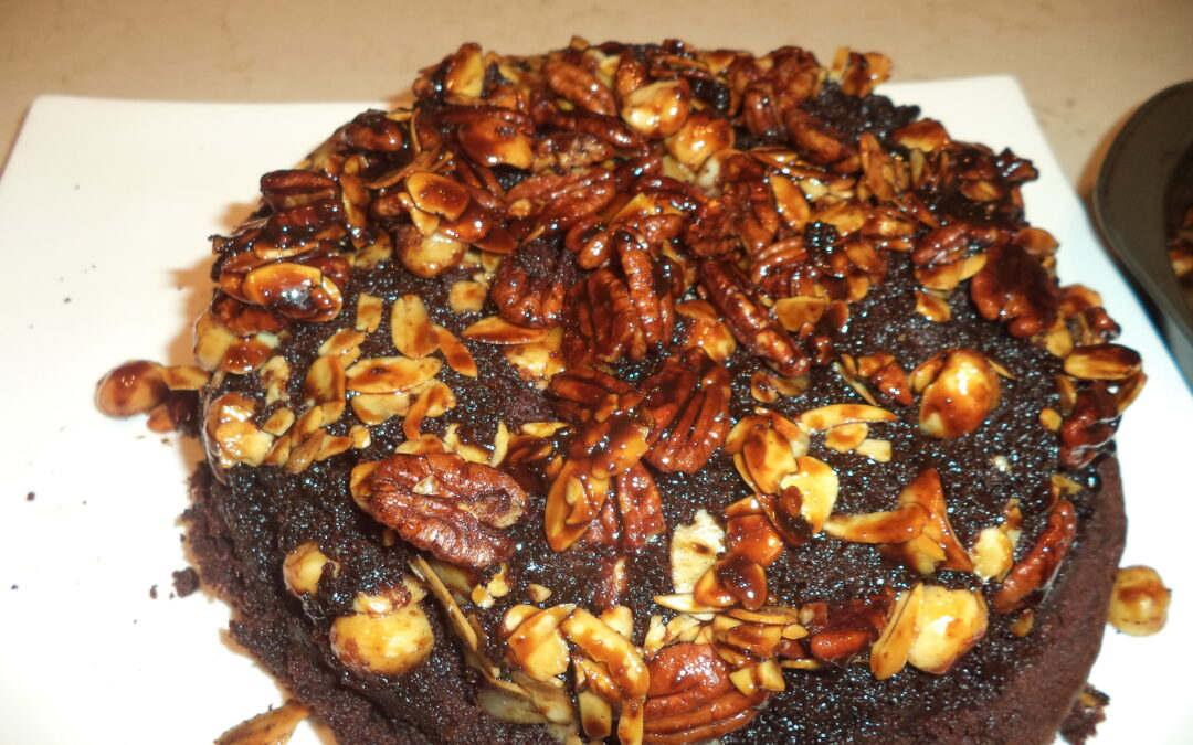 Chocolate Nut Upside-Down Cake and Since When is Segregation O.K.?