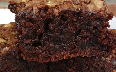 CHOCOHOLICS UNITE -TOFFEE BROWNIES
