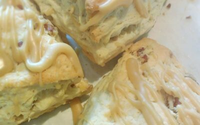 Maple Pecan Scones ( Tea for 2)