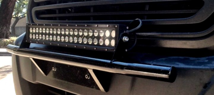 20″ Tubular Light Bar Mount For Ford Transit
