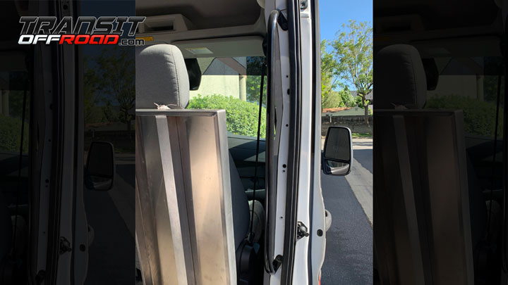 Side Door Grab Bar For Ford Transit
