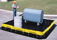 Collapsible Wall Ultra Containment Berms