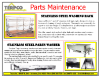 Parts Maintenance Brochure