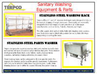 Sanitary Washing Equipment and Parts
