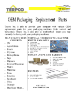 Packaging Replacement Brochure