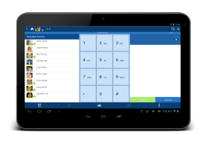 Toshiba UCedge app tablet mobile solution