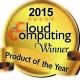 cloud computing award product of year