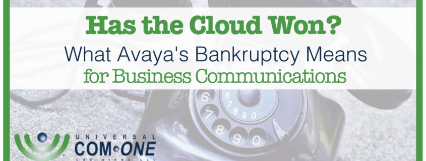 avaya-bankruptcy cloud-technology